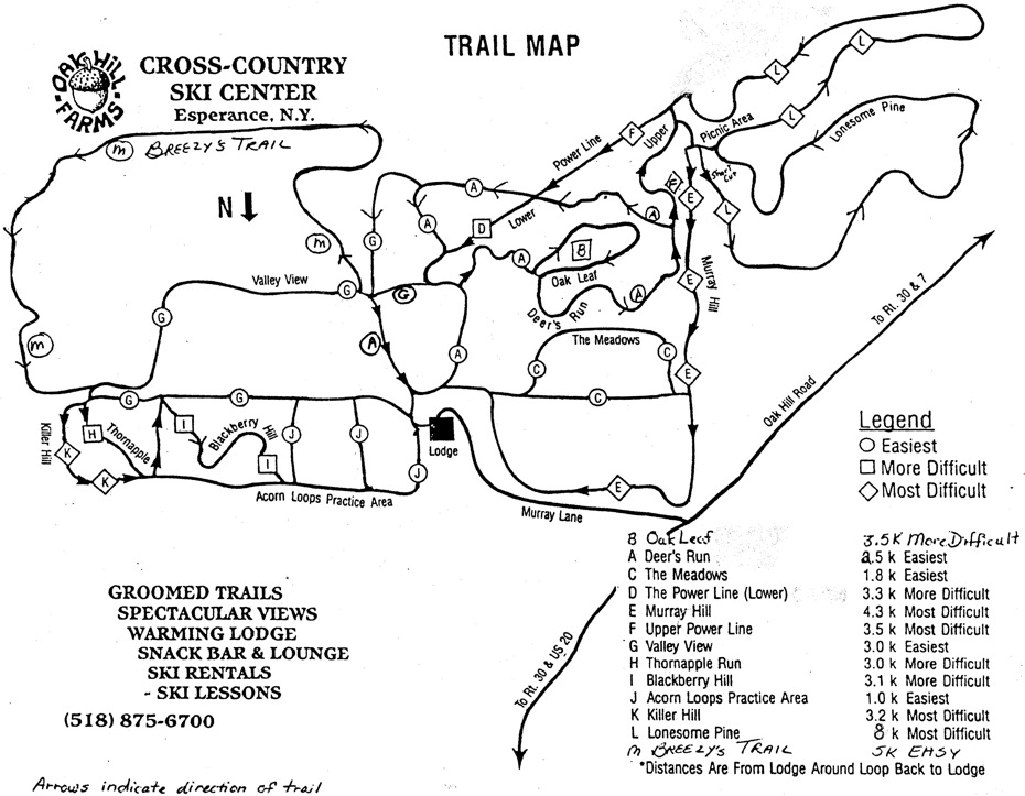 oak-hill-ski-trail-map