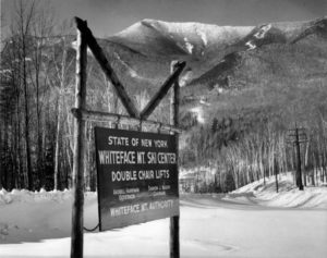 Whiteface in the late 1950s