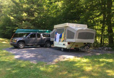 Sundown Wild Forest trailer field