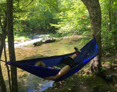 hammock near Rondout Creek
