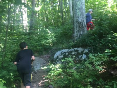 hike up Peekamoose Mountain