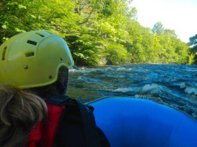 child-rafting