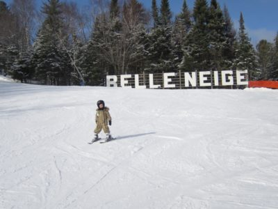 belle neige sign