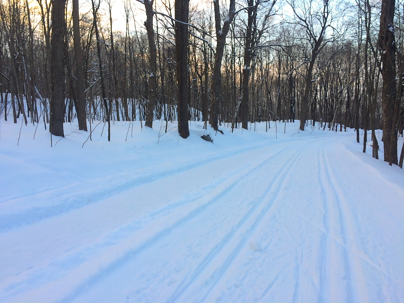 mont royal ski trail