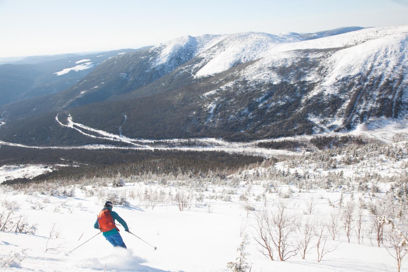 Chic Choc skier