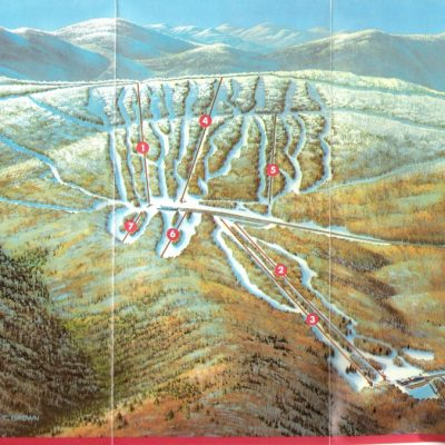 New York State Vintage Ski Trail Map Collection NY Ski Directory - Vintage ski maps