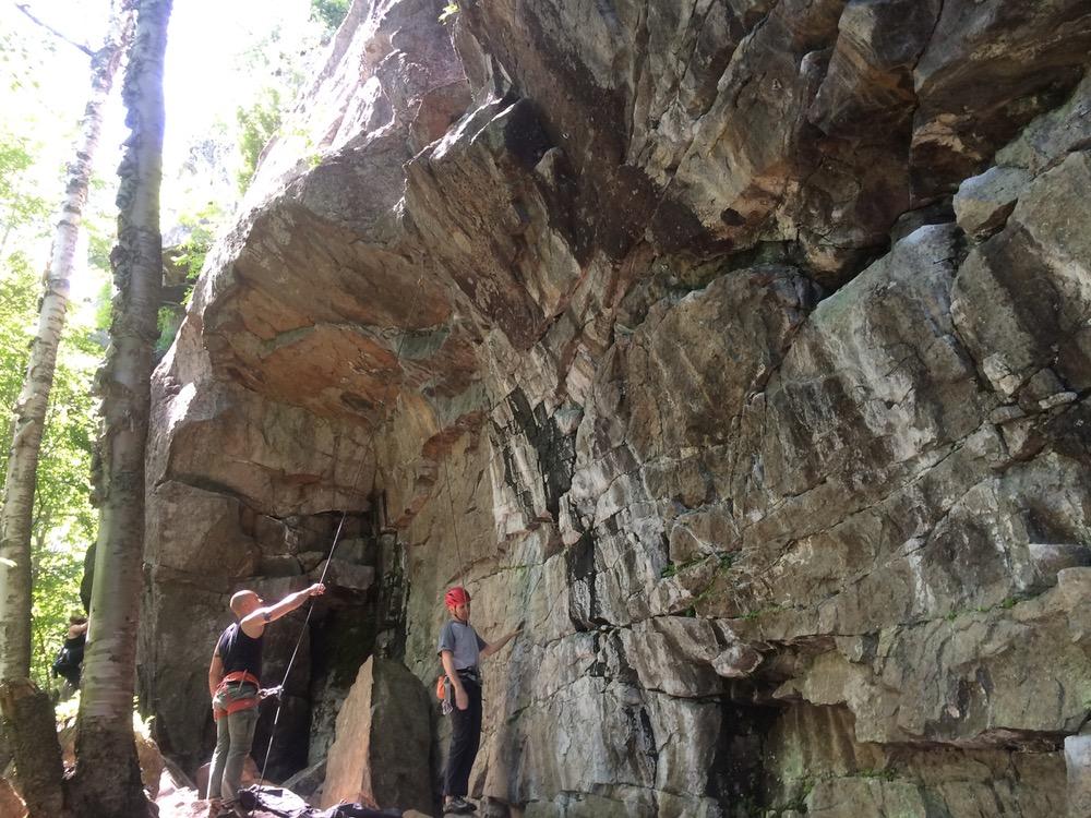 mt baldy quebec climb