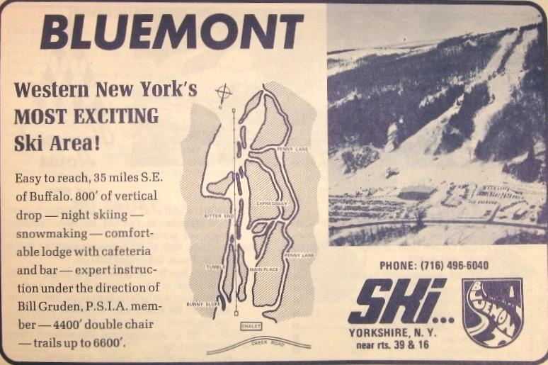 bluemont ski area