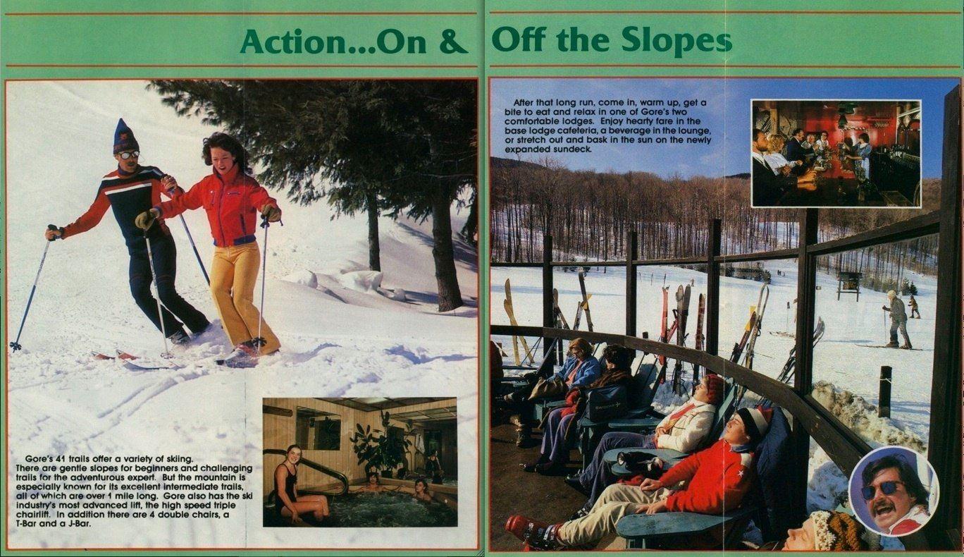 gore mountain brochure 1984