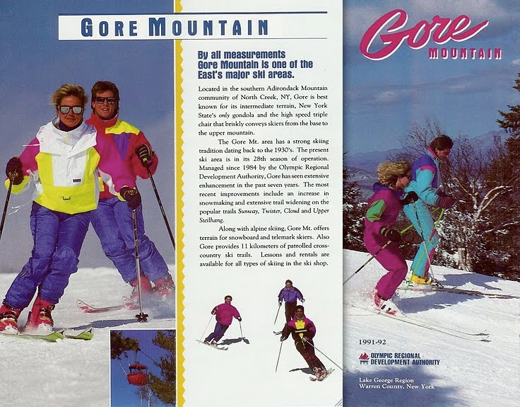 gore mountain brochure