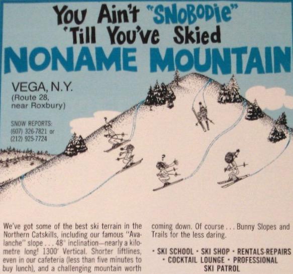 no name mountain newspaper ad