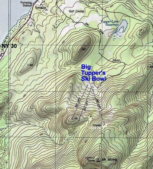 big tupper topographic map