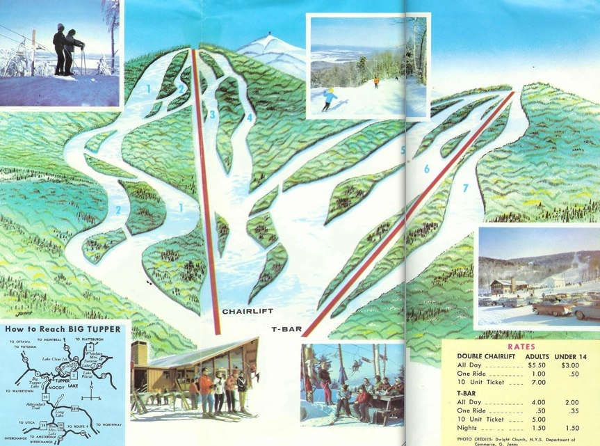 big tupper trail map 1977