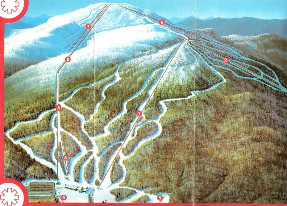 gore mountain trail map 1975