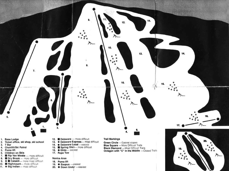 highmount trail map