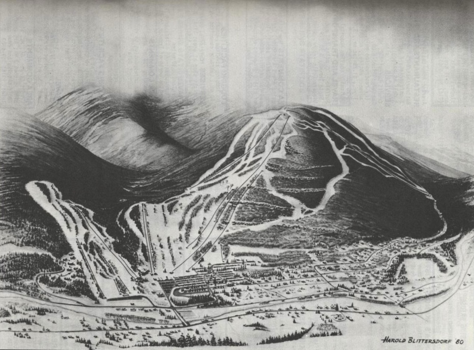 hunter mountain trail map 1980