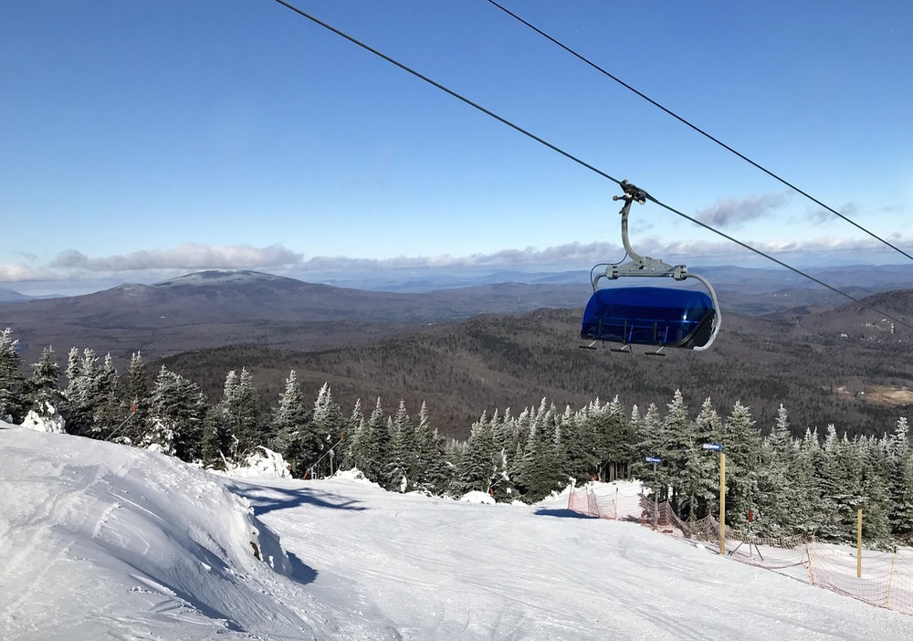 mount snow view