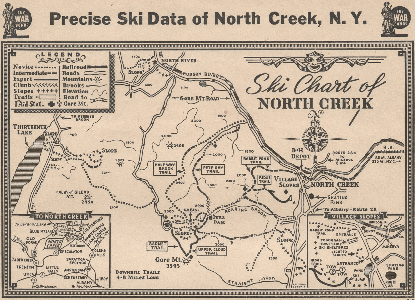 precise ski data of north creek ny