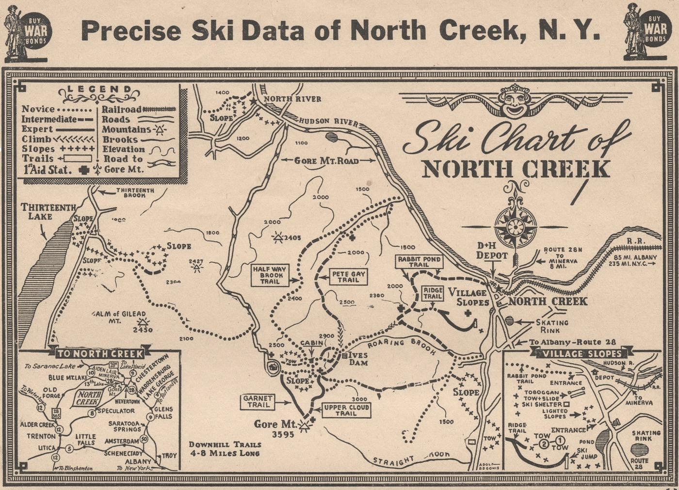 precise ski data of north creek ny