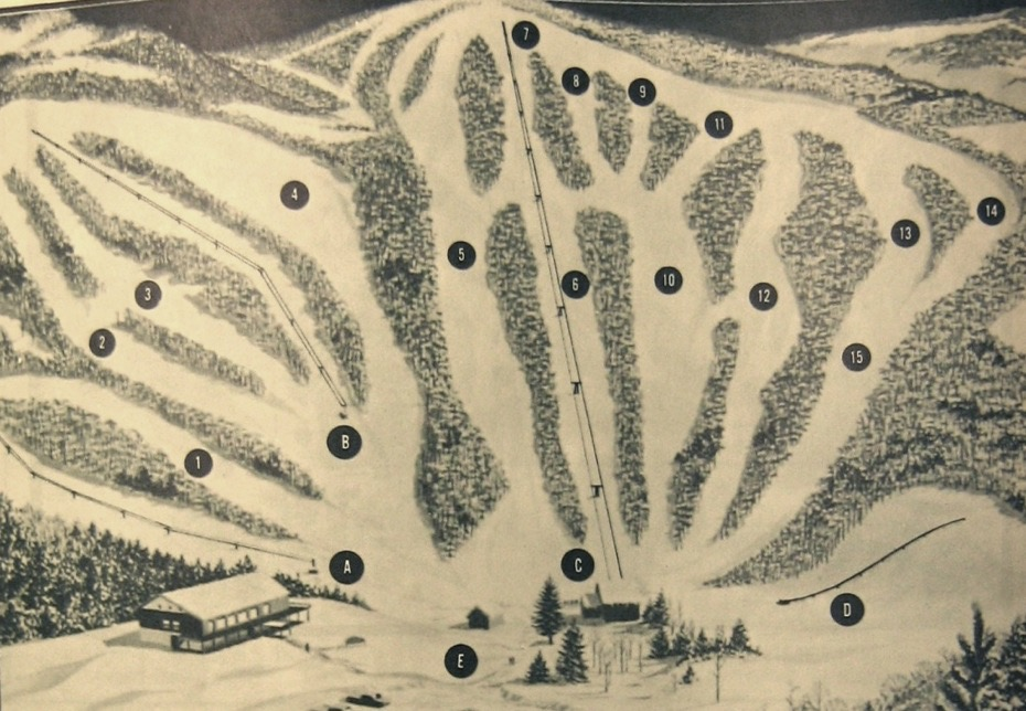 ski wing trail map