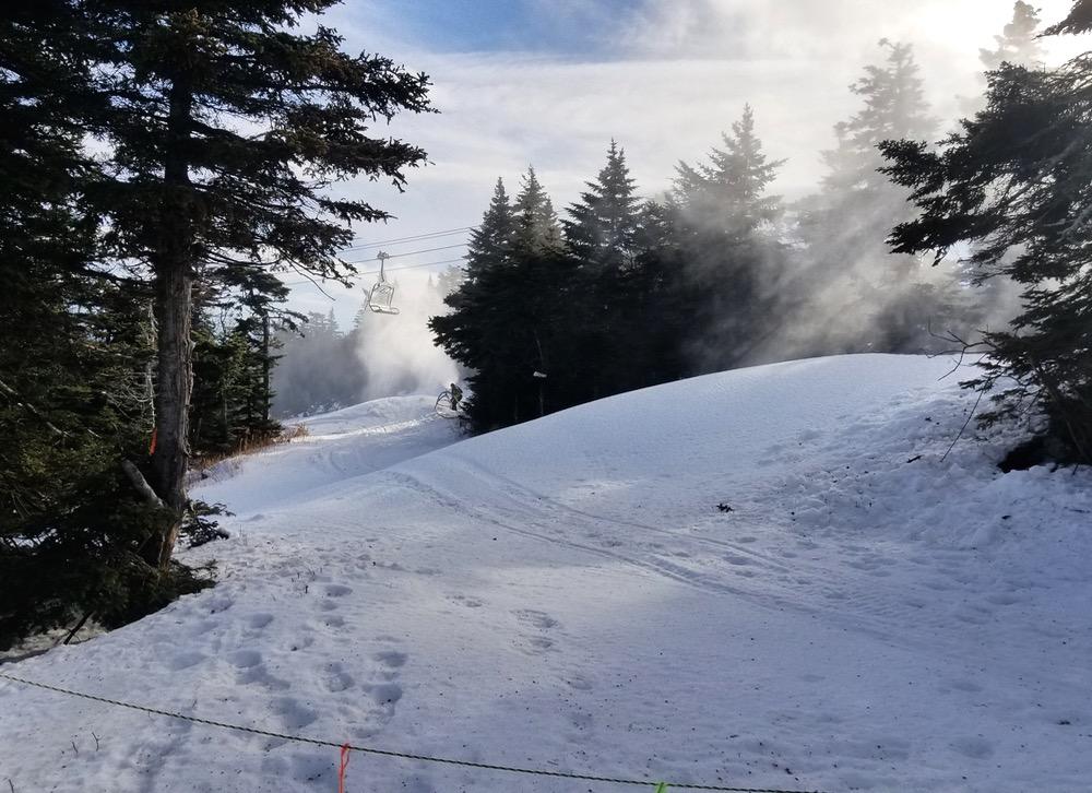 beware the snow guns