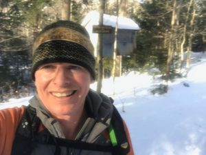 first run of the year on the Raymond Brook Trail
