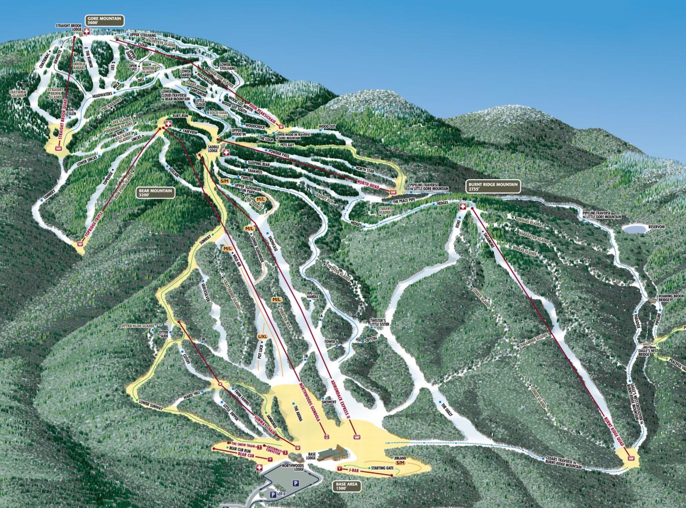 gore-mountain-trail-map