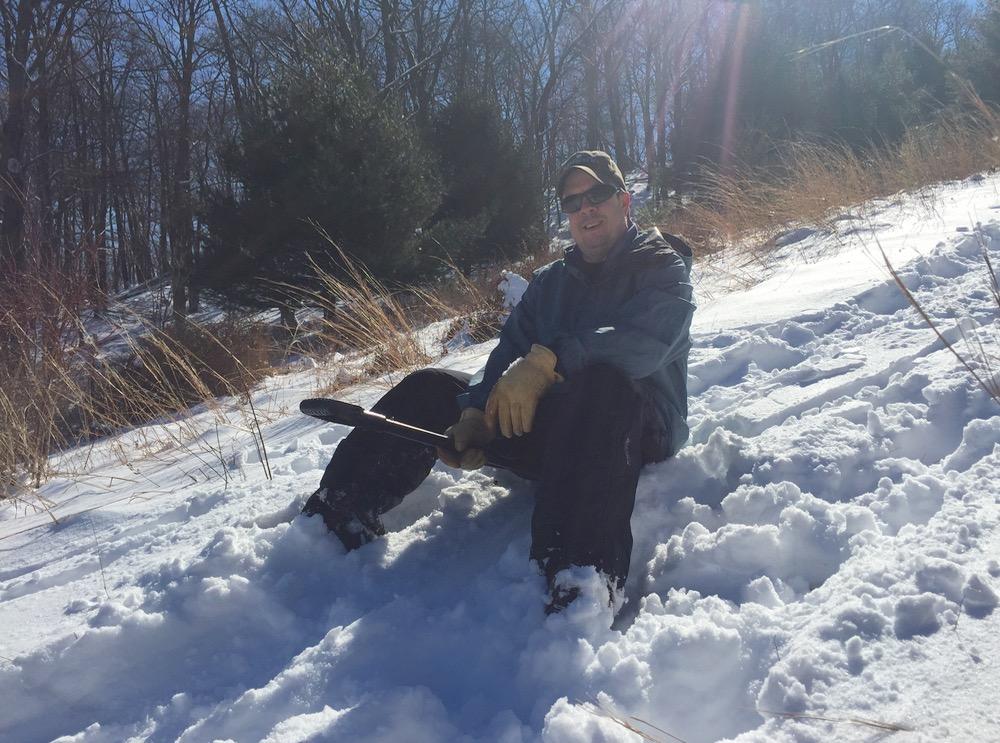 shovel riding
