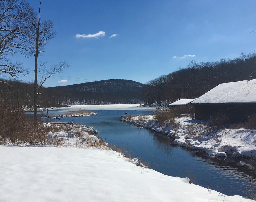 Silvermine pond