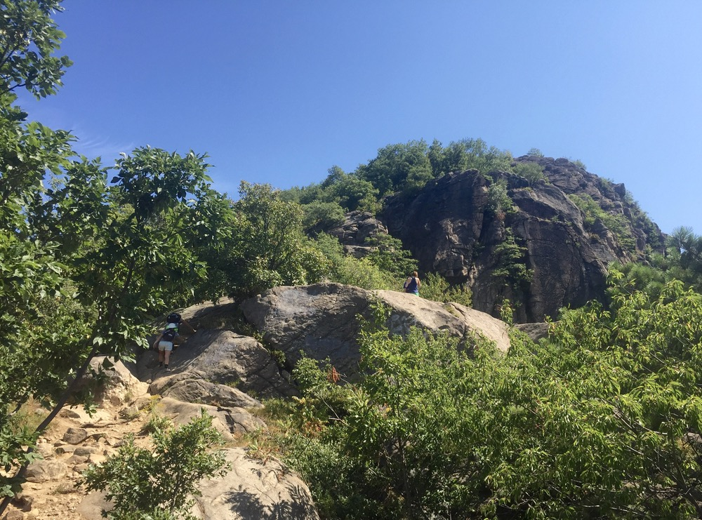 Breakneck Ridge climb