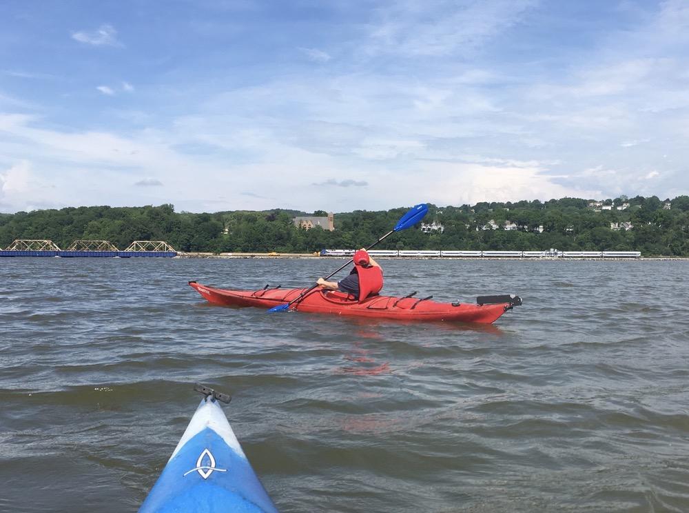 Croton River kayaking