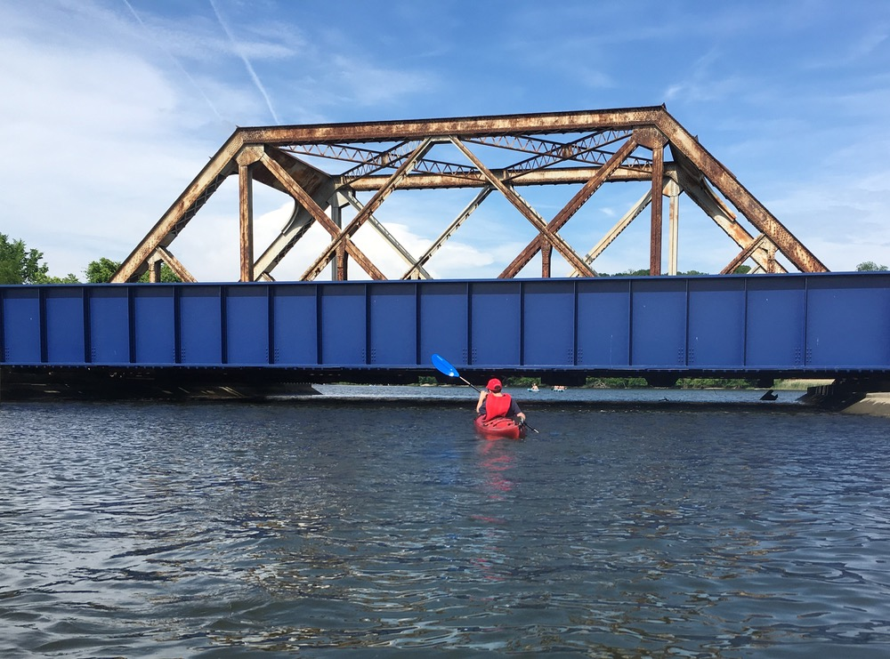 Croton River railroad bridge
