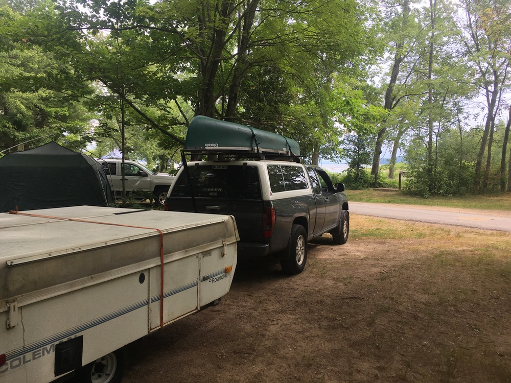 ausable point campsite