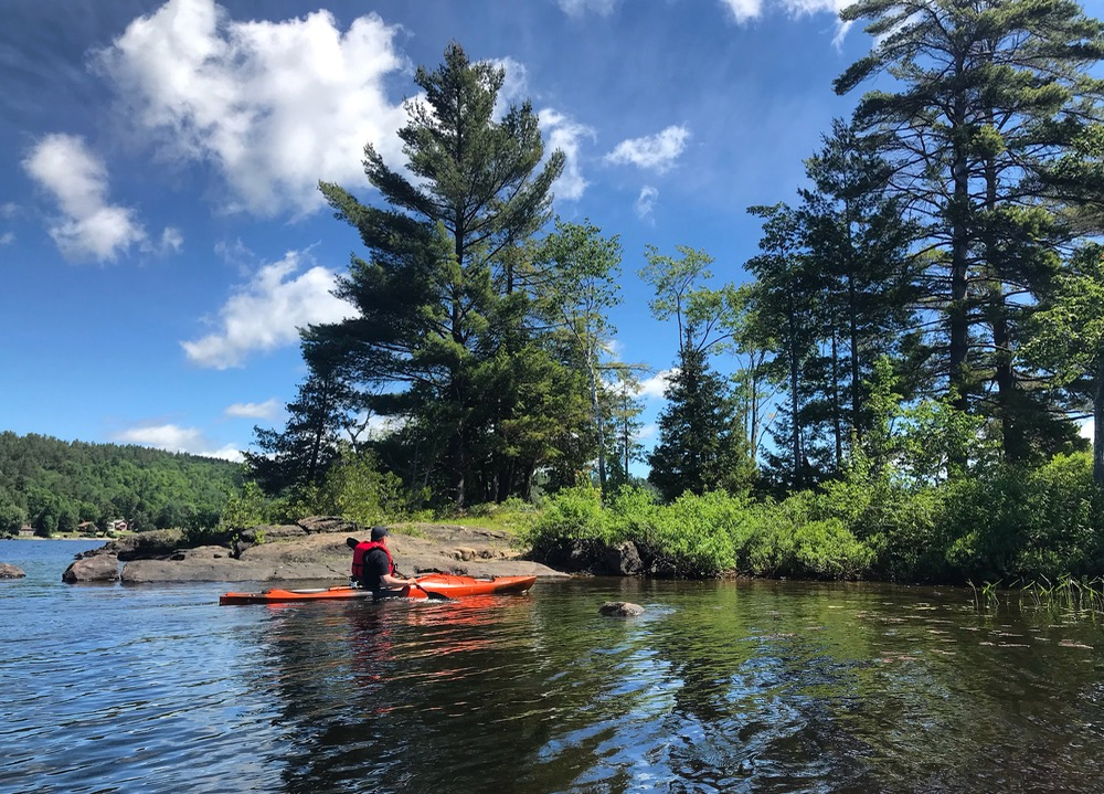 Paradox Lake kayaking