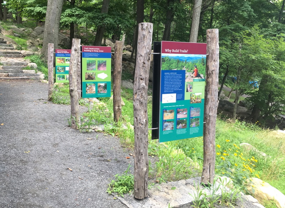 bear mountain trail building exhibit