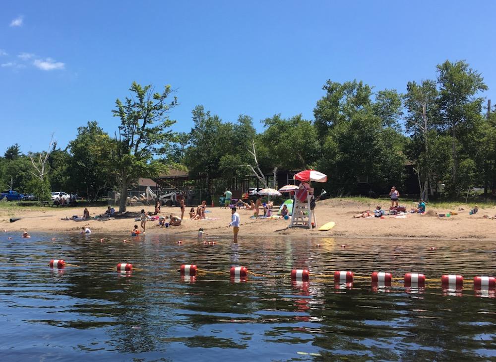 North South Lake beach