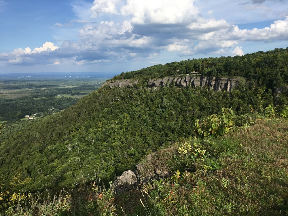 Thacher State Park cliffs