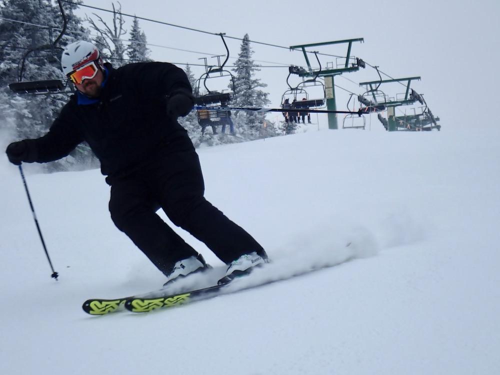 Jay Peak skier