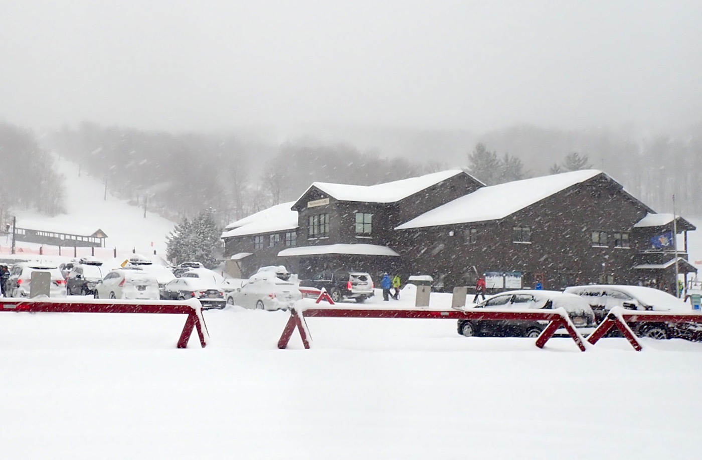 Gore Mountain parking lot