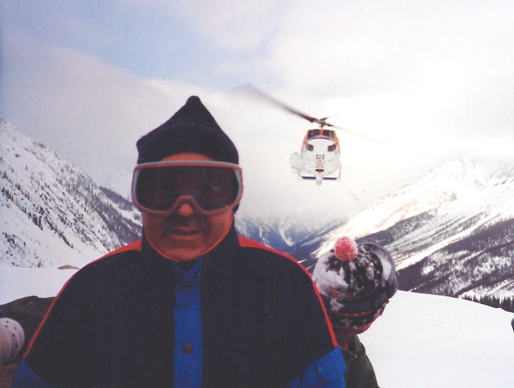 David Lee Ghostlaw on Farnum Glacier