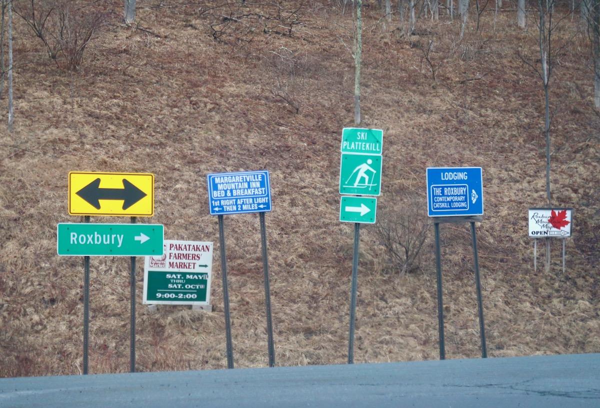 Plattekill sign