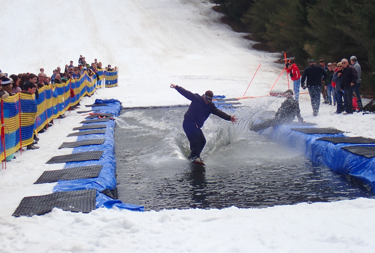 pond skim fail