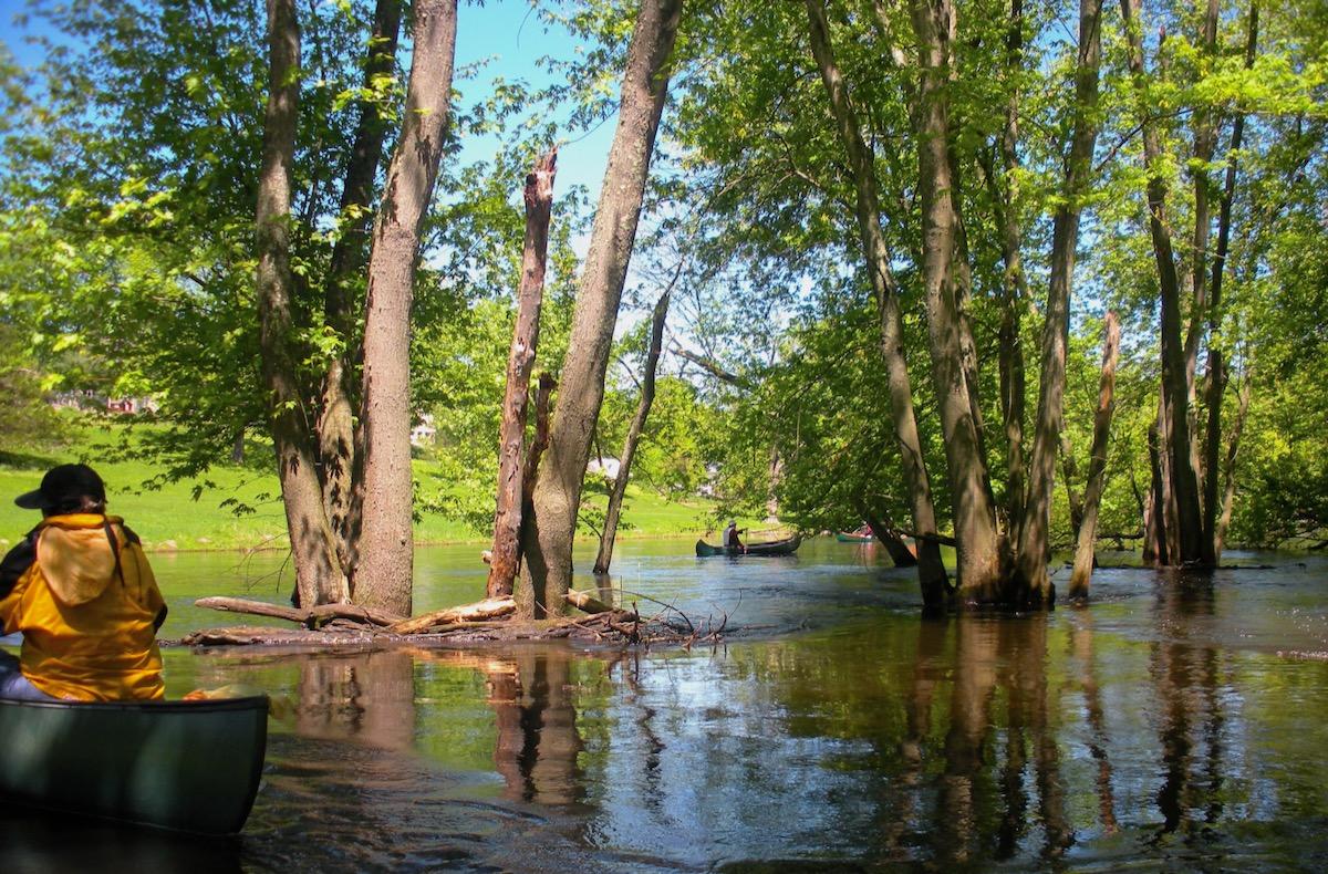 Montville flooded