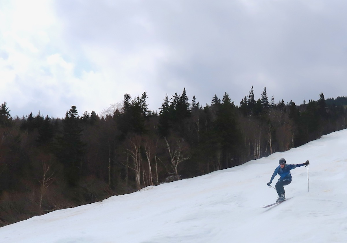 skier on Superstar