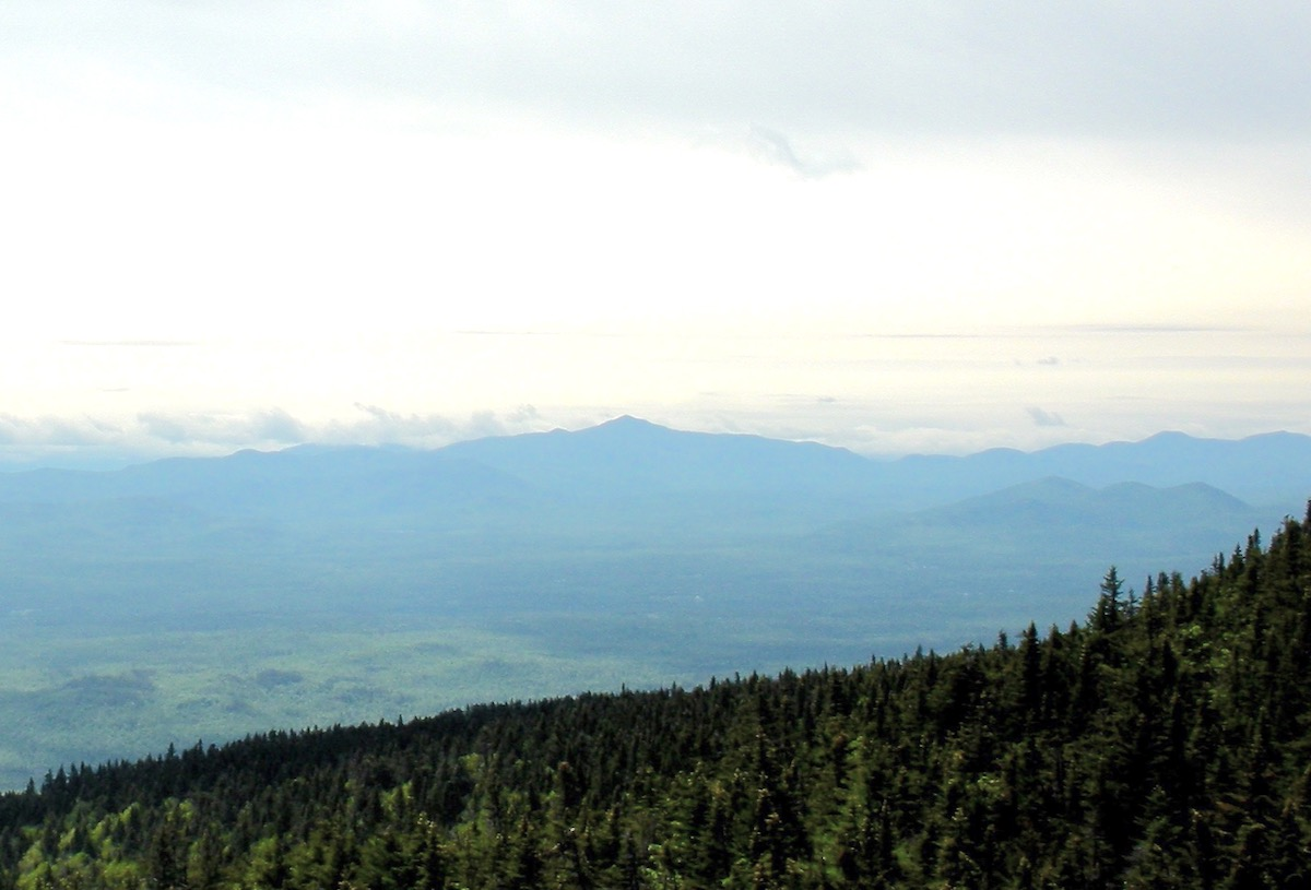 Whiteface from Lyon Mountain