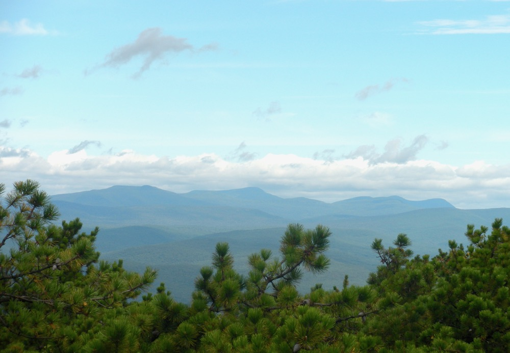 View of the Catskills
