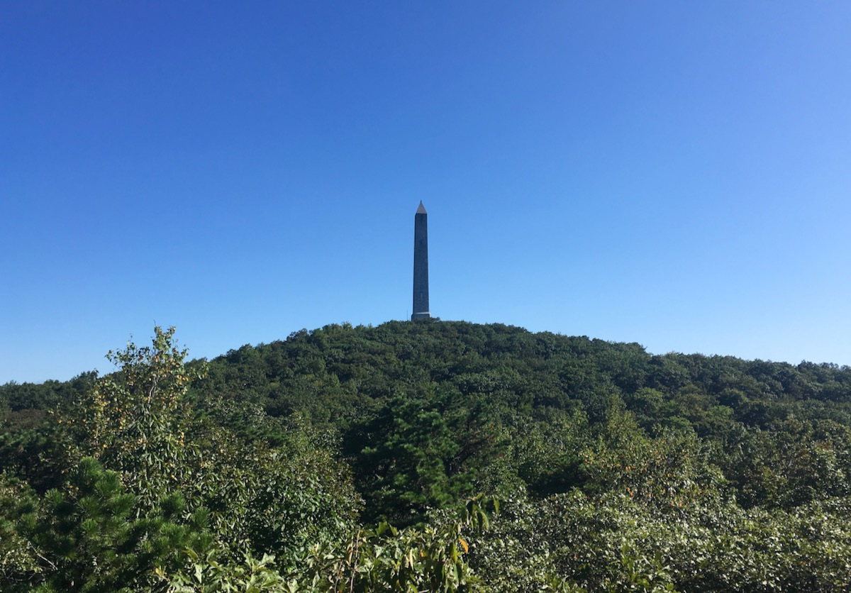 High Point obelisk