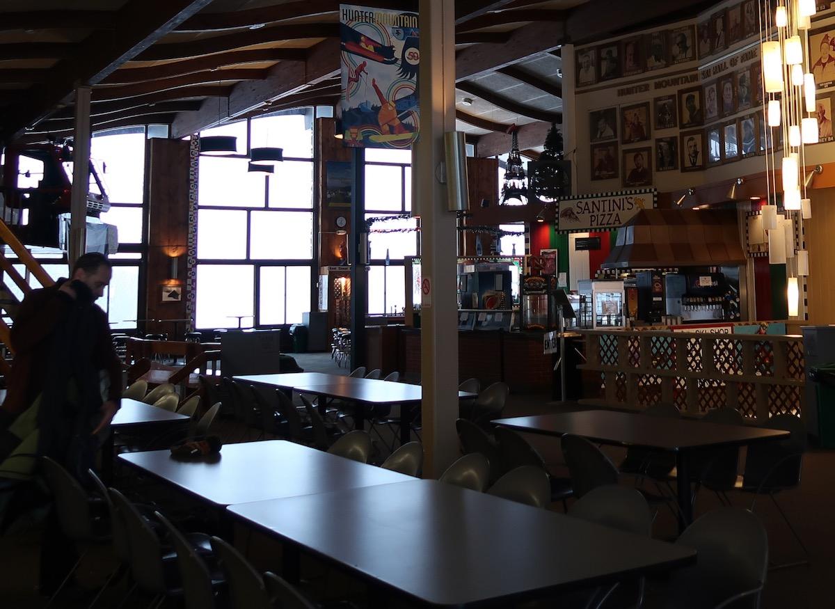 Hunter bar before first chair