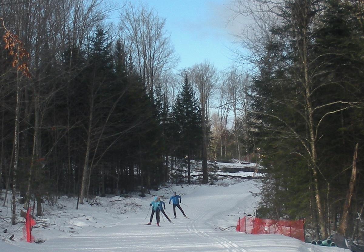 Mount van Hoevenberg skiers