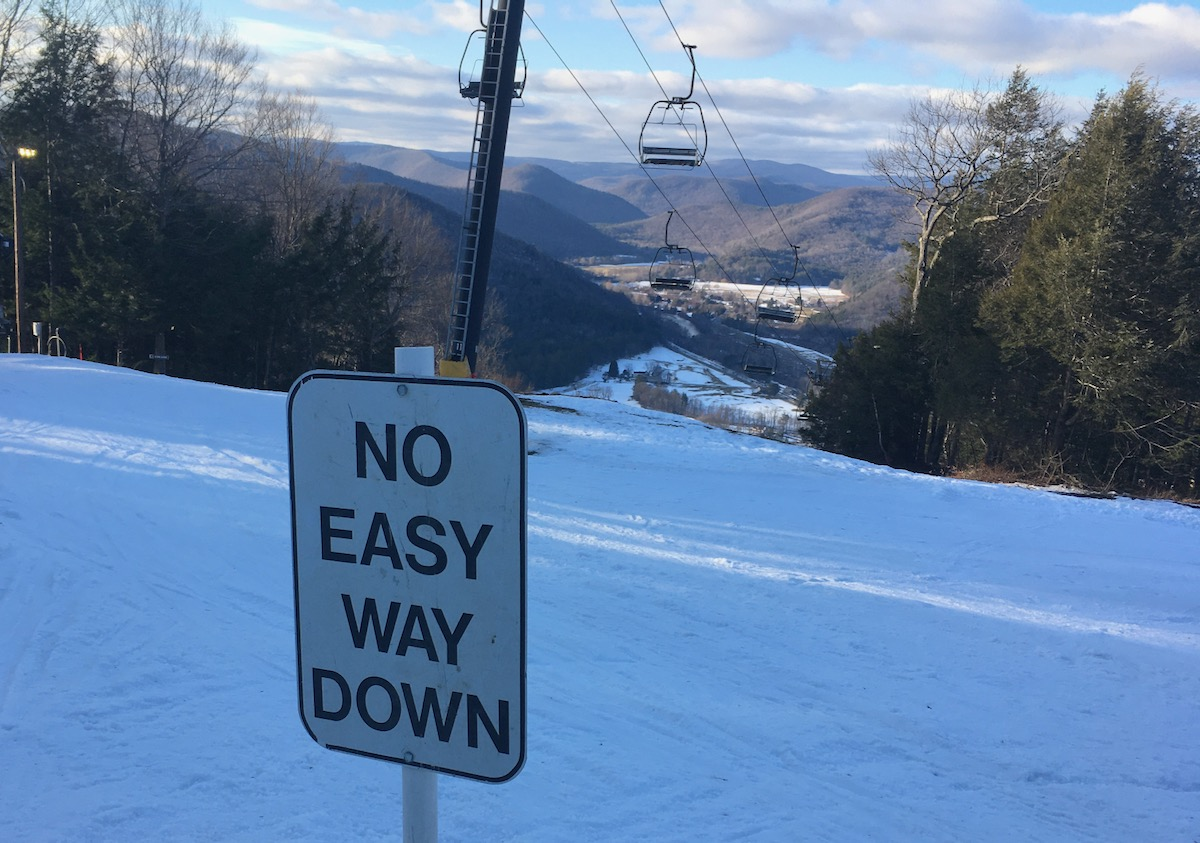 no easy way sign